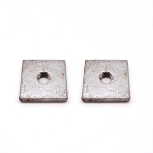 M6 M8 M10 M12 Carbon Steel HDG Stamping Square Thin Nut