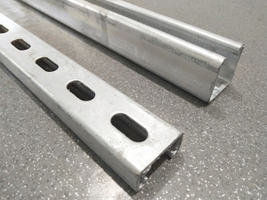 Solar Panel Wall/Tilting Mounting Brackets C Channel Profile Cold Formed Hot Dip Galvanized for Metal Roof