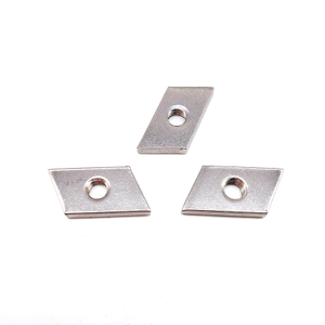 Customized Stainless Steel SS201 SS304 Stamping Rectangular Nut
