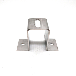 Frameless Solar Panel Clamps/ Solar Energy System Aluminum Extrusion for Solar Rail Mount Bracket