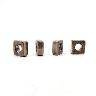 Stainless Steel SS201/SS304/SS316 Chamfering Square Nuts