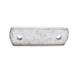 Carbon Steel Grade 6.8/8.8 Zinc Plated Non-standard Stamping Rectangle Two Hole Nut