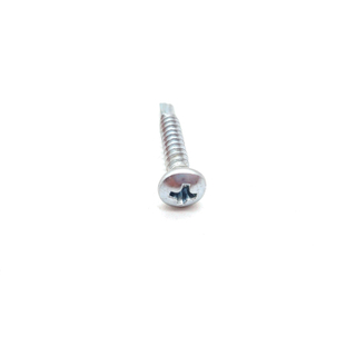 Carbon Steel A2 Zinc Plating Cross Recessed Pan Head Drilling Screws with Wood Thread