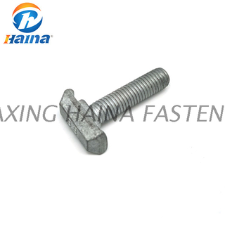 High Qutity DIN186 Hot DIP Galvanized Gr8.8 10.8 Halfen T Bolt