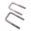 grade 6.8 carbon steel hot dip galvanized square U shape bolt for electric equipment
