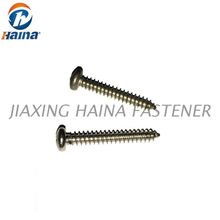 Stainless Steel A2-70 Cross Recessed Pan Head Self Tapping Screw DIN7981 For Metal Plate