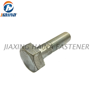 12.9 Grade Steel Galvanized Structure Hex Bolts DIN6914