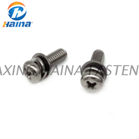 GB/T 9074.1 Stainless Steel Combination Cross Recess Pan Head Machine Screw